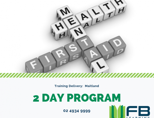 Mental Health First Aid – 2 day Course in Maitland