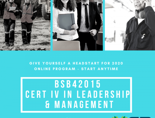 Certificate IV in Leadership & Management Online Training