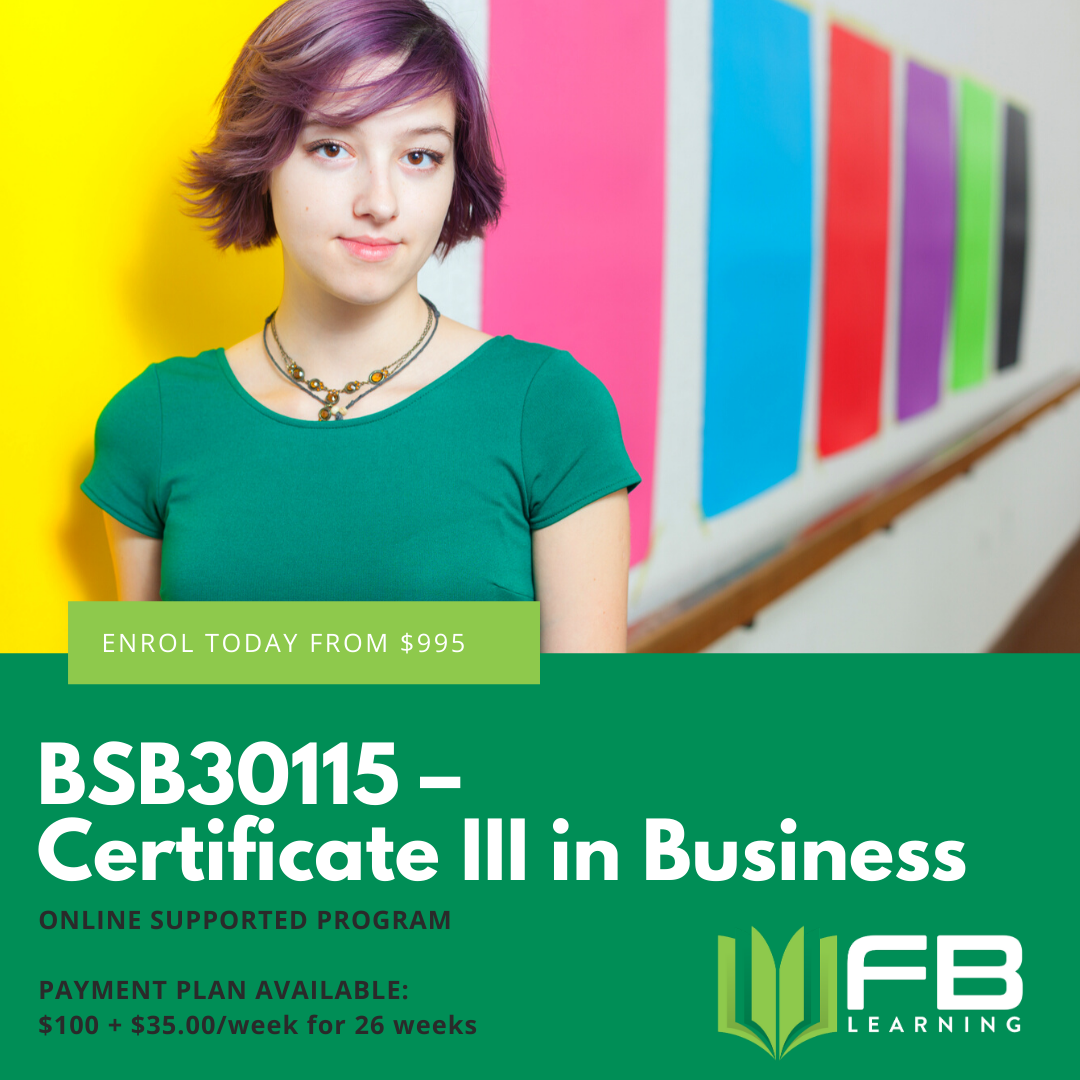Cert III Business